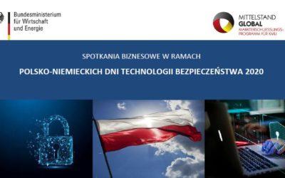 POLSKO-NIEMIECKA KONFERENCJA TECHNOLOGII BEZPIECZEŃSTWA