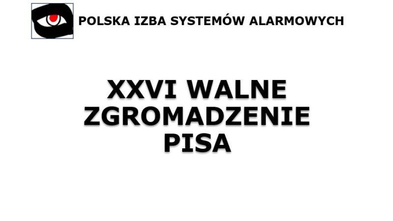 XXVI WALNE ZGROMADZENIE PISA