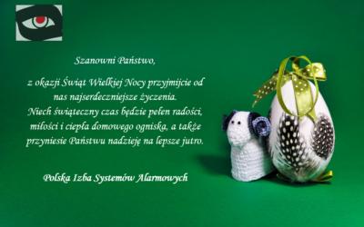 PISA Życzenia Wielkanocne